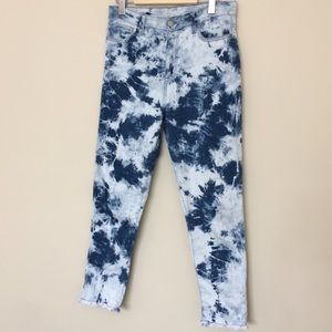 Bleach Dyed Pants